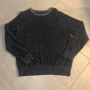 🍎Tommy Hilfiger Heathered Navy Sweater, L